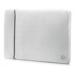 сумка для ноутбука Чехол HP Neoprene Reversible Sleeve 14, серебристый
