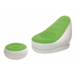 кресло садовое надувное BestWay 75053 Comfort Cruiser Inflate-A-Chair, зеленое