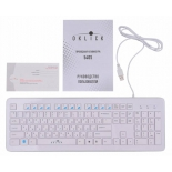 клавиатура Oklick 540S, белая