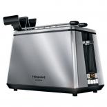 тостер Hotpoint-Ariston TT 22E UP0, нержавеющая сталь