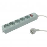 сетевой фильтр PC Pet (AP01006-3-GR) серый