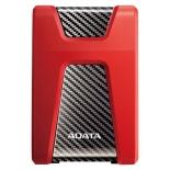 внешний жёсткий диск HDD Adata DashDrive Durable HD650, 1Тб, красный