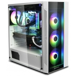 корпус компьютерный Deepcool Matrexx 55 ADD-RGB, белый без БП