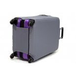чемодан Чехол L`case (размер: S),  Светло-серый