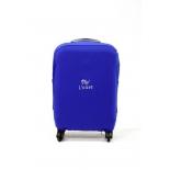 чемодан Чехол  L`case (размер: L), Синий