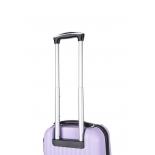 чемодан L`case Krabi BCP-12-02  S (ручная кладь), 21х37х54 см, лиловый