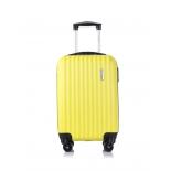 чемодан L`case Krabi BCP-12-02  S (ручная кладь), 21х37х54 см,  желтый
