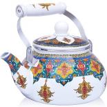 чайник для плиты MAYER & BOCH MB 27980 2,5л эмаль, узоры