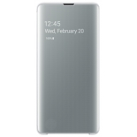 чехол для смартфона Samsung для Samsung S10+ Clear View Cover белый