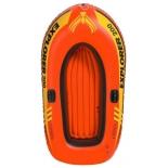 лодка надувная INTEX EXPLORER 58330 оранжевый/желтый (двухместная)
