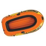 лодка надувная Intex 58356 Explorer Pro 200, оранжевый/желтый