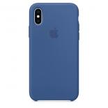 чехол для смартфона Apple  iPhone X/XS Silicone Case - голландский синий (MVF12ZM/A)