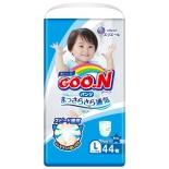 подгузник GOON 9-14 кг. 44 шт, для девочек и мальчиков, L