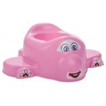 горшок детский Pilsan Airplane Child Potty (07-516-T), розовый