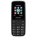 сотовый телефон Philips E125 Xenium, черный