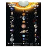 детский плакат звуковой Знаток Космос PL-13-SPACE