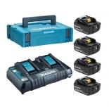 аккумулятор к инструментам набор Makita 198312-4 BL1850B аккумулятор и DC18RD зарядное устройство