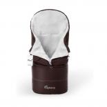 конверт для новорожденного Esspero Transformer, белый/шоколад