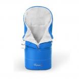 конверт для новорожденного Esspero Transformer, белый/синий