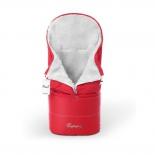 конверт для новорожденного Esspero Transformer, белый/красный