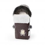 конверт для новорожденного Esspero Heir Chocco, коричневый