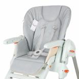 аксессуар для детского отдыха Сменный чехол Esspero для стульчика Chicco Polly, серый
