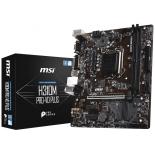 материнская плата MSI H310M PRO-VD PLUS (mATX, LGA1151, Intel H310, 2xDDR4)