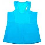 майка Bradex Body Shaper, для похудения, размер L, голубой