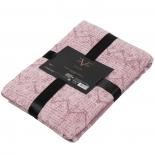 полотенце Versace Bergner 91x183см, розовато-лиловое