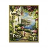 картина по номерам Schipper Дом у моря 40х50 см (9130416)