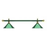 светильник потолочный Weekend Allgreen (зелёная штанга, зелёный плафон)