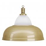 светильник потолочный Weekend на один плафон  Crown (матово-бронзовая чашка, матово-бронзовый плафон)
