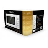 микроволновая печь Vekta MS720AHW, белая