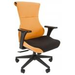 компьютерное кресло Chairman Game 10, оранжевое