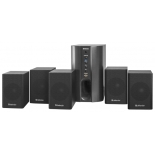 комплект акустических систем Defender Hollywood 35 (5.1, 50-20000 Гц, 45 Вт), черный