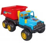 игрушки для мальчиков Грузовик Pilsan Rodeo Dump Truck (06-603), сине-красный