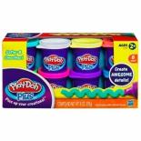набор для лепки игровой Hasbro Play-Doh Plus 8 баночек (A1206)