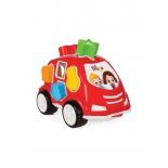 игрушки для мальчиков Машинка Pilsan Shape Sorter Car (03-186) Нилоя, красная