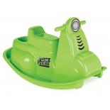 качалка детская Pilsan Motor (06-178), зеленая