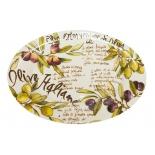 блюдо TetChair Olives Oval platter (C/1179 ) керамика