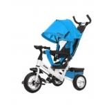 Трехколесный велосипед Moby Kids Comfort 10x8 EVA (641221) blue