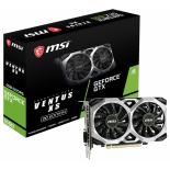 видеокарта GeForce MSI GeForce GTX 1650 Ventus XS 4G OC (GDDR5, G-Sync)