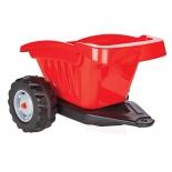 педальная машина Прицеп для педального трактора Pilsan (07-317) красный