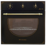 Духовой шкаф Electronicsdeluxe 6006.03 эшв-008, черный матовый