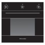 Духовой шкаф Electronicsdeluxe 6006.03эшв-003, черный