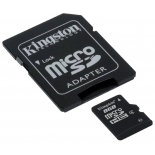 карта памяти Kingston SDC4/8GB 8Gb  + adapter