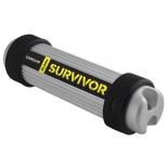 usb-флешка Corsair Flash Survivor USB 3.0 16GB, серебристо-черная