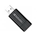 usb-флешка Verbatim Store 'n' Go PinStripe 8GB, черная