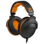 гарнитура для пк SteelSeries 9H Fnatic Edition, черно-оранжевая