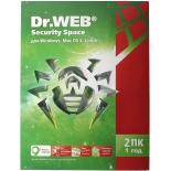 программа-антивирус Dr.Web Security Space 2 ПК/1 год